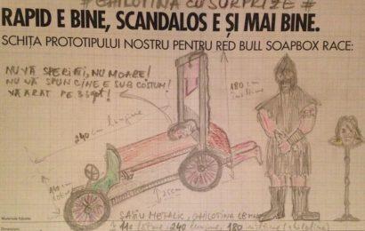 La Red Bull Soapbox din Cluj-Napoca vor participa 15 echipe