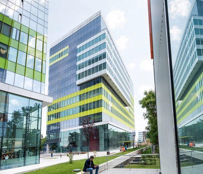 Compania T-Me Studios a inchiriat un spațiu de birouri în clădirea C a Green Court Bucharest