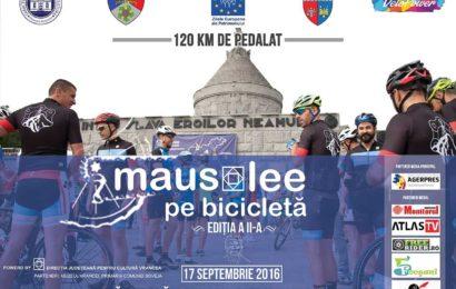 """""""Mausolee pe bicicletă"""" susține Campania """"Brâncuși e al meu!"""""""