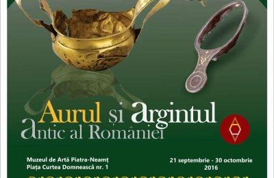 """Muzeul de Istorie: Deschiderea expoziției """"Aurul și argintul antic al României"""" la Piatra Neamț"""