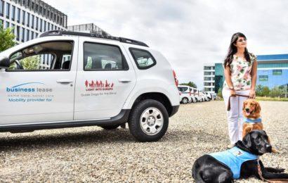 Business Lease susține mobilitatea pentru oamenii nevăzători din România