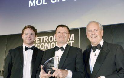 Grupul MOL a fost desemnat cea mai bună companie downstream a anului