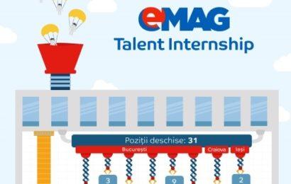 eMAG a angajat 21 de studenți dintre cei recrutați în programul eMAG Talent Internship