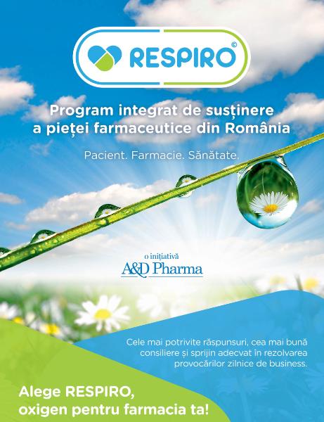 MEDIPLUS prezintă RESPIRO, un program integrat de susţinere a pieţei farmaceutice