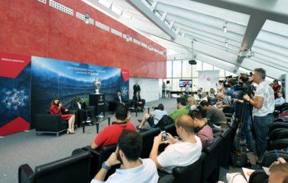 UniCredit aduce la București trofeul UEFA Champions League