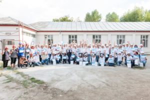 Voluntari Metropolitan Life_santierul Habitat for Humanity (1)