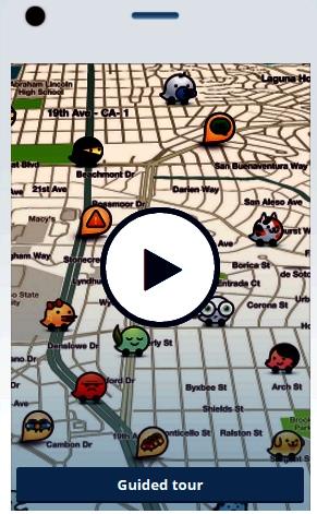 Aplicatia Waze va sti cate locuri libere are o parcare