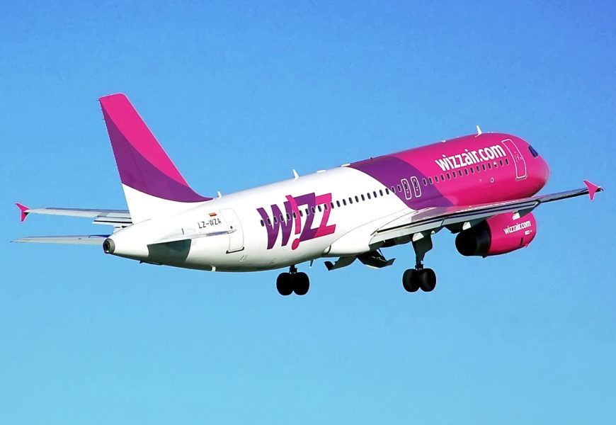 Wizz Air deschide cea de-a 25-a baza in  Kutaisi, Georgia