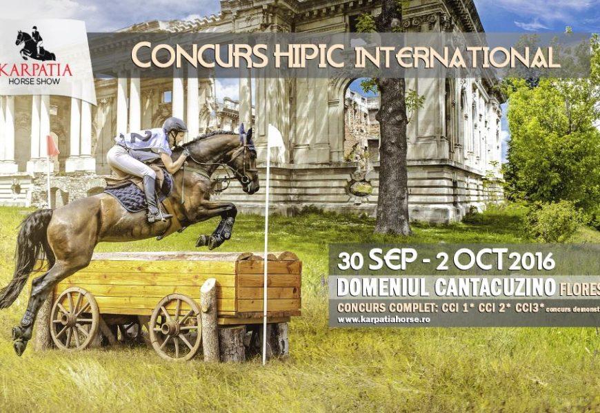 Karpatia Horse Show 2016 se desfășoară pe un domeniu nobiliar