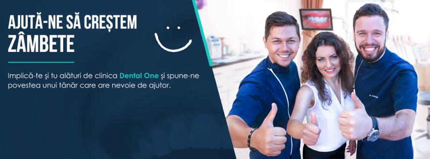 Sustine initiativa de educatie dentara lansata de clinica Dental One!