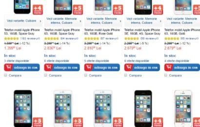 eMAG aniversează un an de Apple Shop