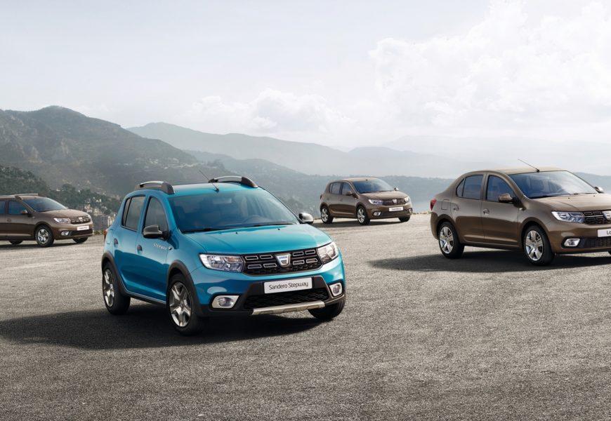 Dacia va prezenta la Salonul Auto de la Paris noile modele Sandero si Logan