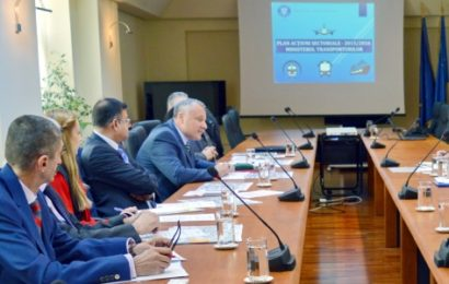 Master Planul General de Transport, promovat de Ministerul Transporturilor
