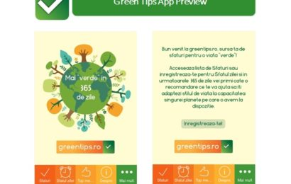 Asociaţia Mai Mult Verde lanseaza prima aplicaţie mobila dedicată unui stil de viaţă eco