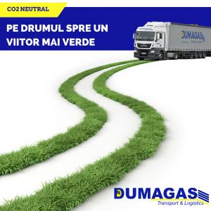 """Dumagas a lansat campania """"Pe drumul spre un viitor mai verde"""""""
