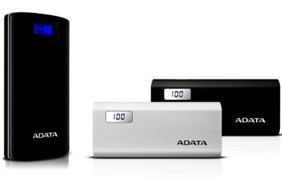ADATA lansează noi baterii portabile cu display digital