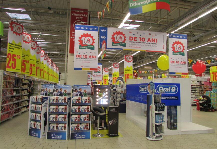 Auchan susţine cu 200.000 euro dezvoltarea comunităţilor din România şi sărbătoreşte 10 Ani de prezenţă pe piaţă