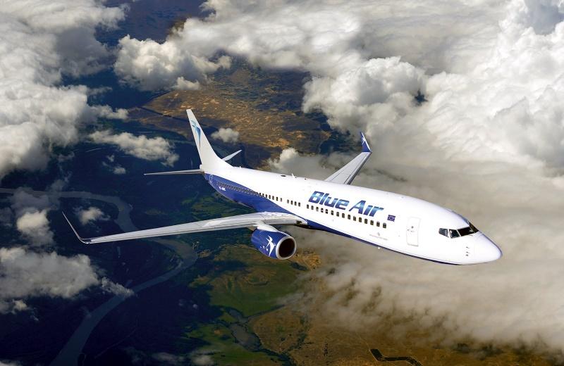 Blue Air va conecta Oradea cu Bucuresti si Torino