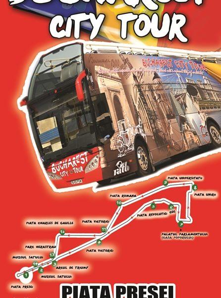 """Linia turistică """"Bucharest City Tour"""" încheie sezonul 2016"""