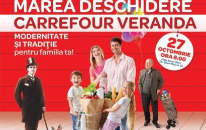 Carrefour România a deschis cel de-al 31-lea hipermarket în centrul comercial Veranda