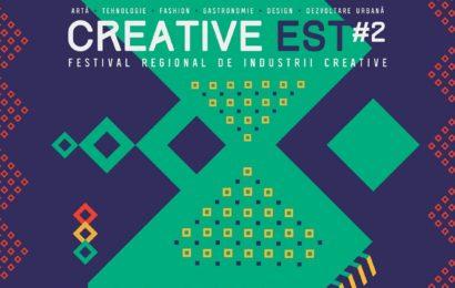 Creative Est, festivalul regional al industriilor creative