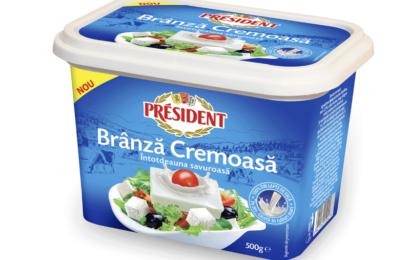 President lansează un nou sortiment de brânză