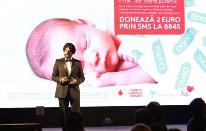 Fundația Vodafone sustine renovarea secției de Neonatologie a Spitalului Constanța