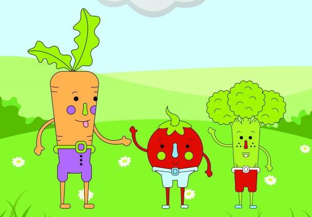 Ghidul Școala Legumelor : Cum ii poti convinge pe copii sa manance legume