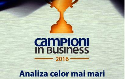 Studiul ''Campioni în Business'': Anul 2016 marchează consolidarea capitalului românesc