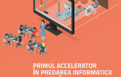 Predau Viitor: primul accelerator în predarea informaticii din România
