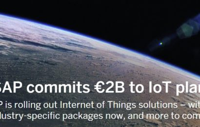 SAP investește în facilitarea accesului companiilor la tehnologiile Internet of Things (IoT)