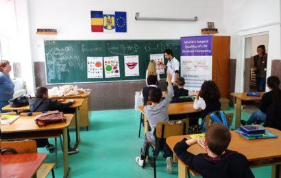 Sodexo a dat startul orelor de educatie pentru sanatate din programul Sa crestem sanatosi!