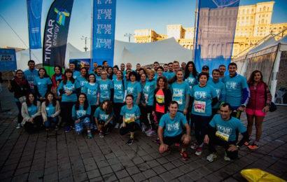 Peste 400 de persoane au alergat la maraton pentru Hope and Homes for Children
