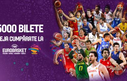 Românii au achiziționat deja peste 5000 de bilete la FIBA EUROBASKET 2017