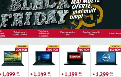 Black Friday începe la ALTEX