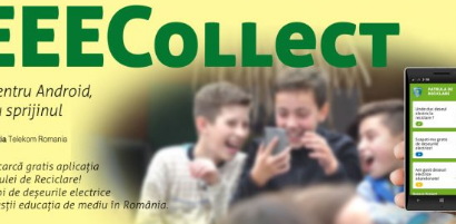 Aplicatia DEEECollect mobile app faciliteaza colectarea responsabilă a deșeurilor