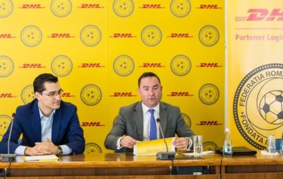 DHL Express Romania a devenit Partener Logistic Oficial al Federatiei Romane de Fotbal