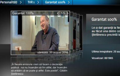 Noul sezon Garantat 100% debutează cu un interviu cu actorul Tim Robbins