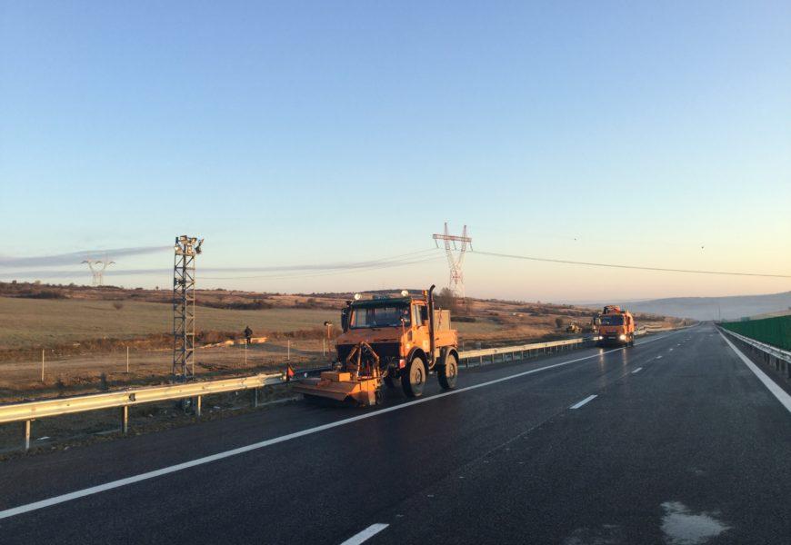 Traficul rutier pe lotul trei al autostrăzii Sibiu – Orăştie a fost redeschis