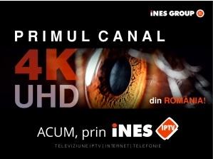 iNES GROUP lansează primul canal Ultra HD din România