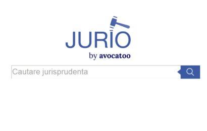JURIO, cea mai mare bază de jurisprudență din România cu un motor de căutare avansat