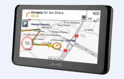 Cele mai noi game de GPS-uri și camere video Mio, prezentate la Salonul Auto București
