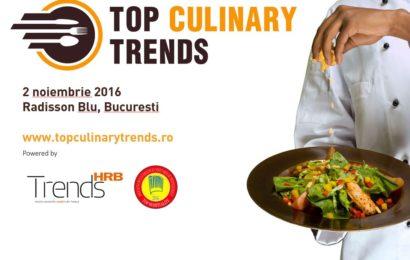 Peste 350 de participanti si demonstratii de stele Michelin la Top Culinary Trends 2016