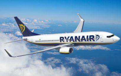 Ryanair a deschis baza de la București