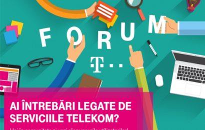 Telekom Romania anunţă lansarea forumului Telekom