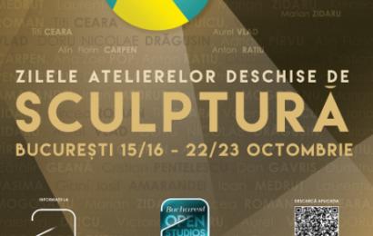 Zilele Atelierelor Deschise de Sculptura, eveniment gratuit