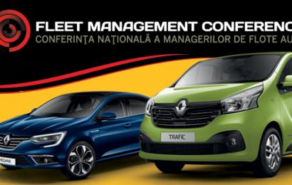 Fleet Management Conference, pentru gestionarea eficienta a flotelor auto