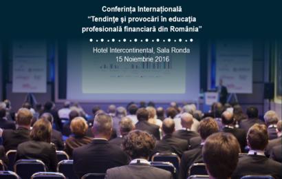 """ISF- """"Tendinţe şi provocări în educaţia profesională financiară din România"""""""