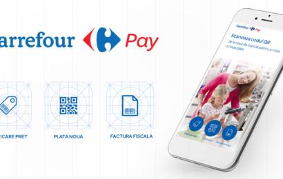 Carrefour lanseaza azi aplicatia mobila CarrefourPay