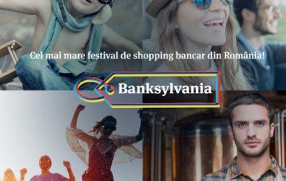 Banca Transilvania, cel mai mare festival de shopping bancar din România: Banksylvania